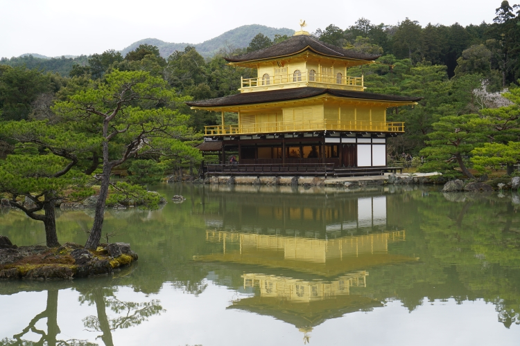 12 Golden pavilion