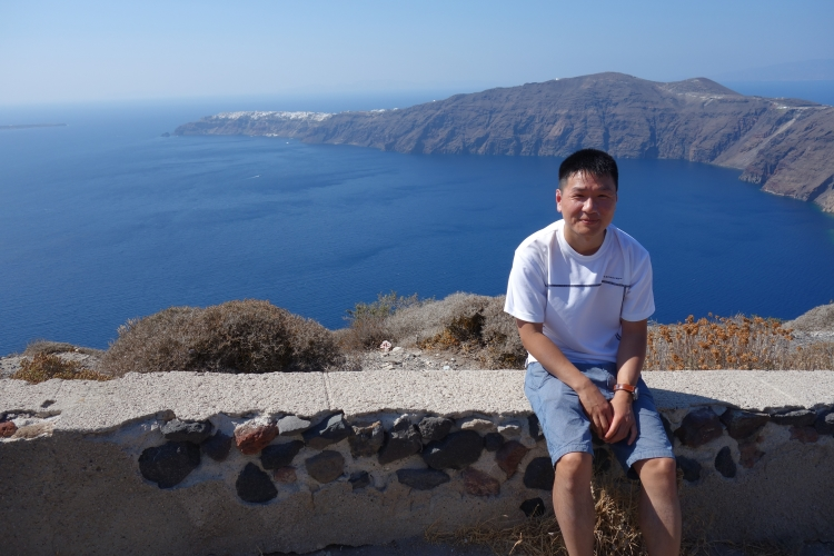 13 Caldera self portrait