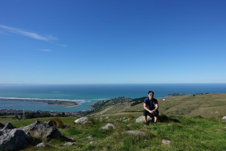 14 Christchurch Port Hills Pacific Ocean view.JPG
