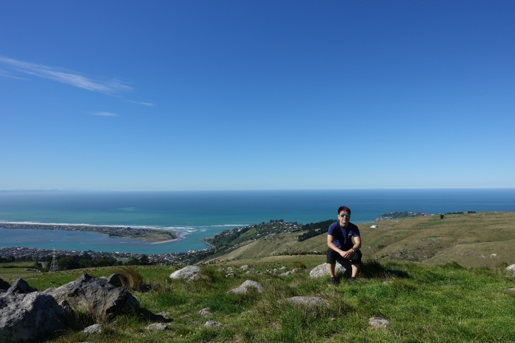 14 Christchurch Port Hills Pacific Ocean view.JPG