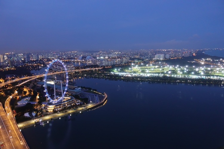 14 Marina Bay Sands Skypark Singapore Flyer