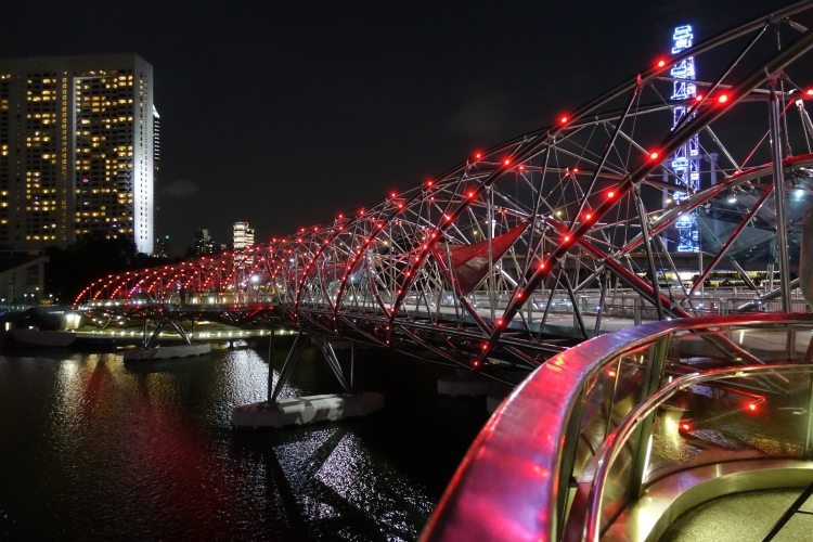 17 Helix Bridge night